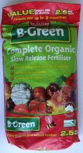B-Green Organic Slow Release Fertiliser 2.5kg